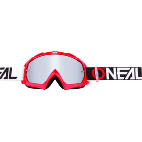 ONeal B-10 Goggles Twoface Mirror Silver red